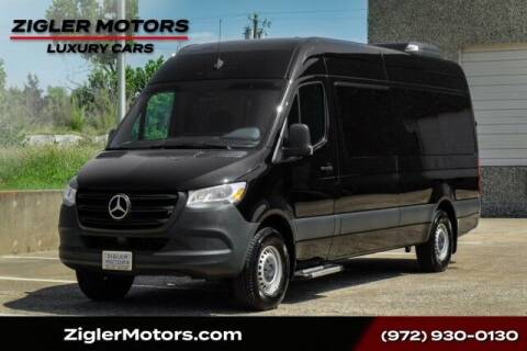 2019 Mercedes-Benz Sprinter Passenger for sale at Zigler Motors in Addison TX