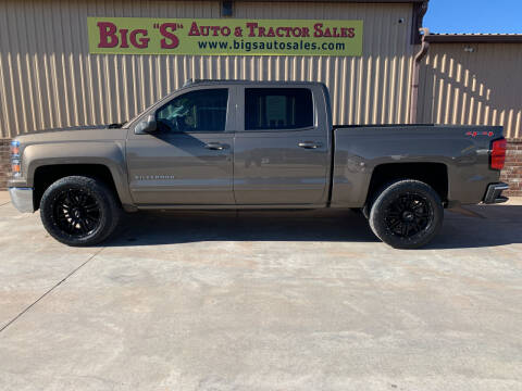 2015 Chevrolet Silverado 1500 for sale at BIG 'S' AUTO & TRACTOR SALES in Blanchard OK