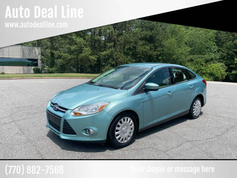 2012 Ford Focus for sale at Auto Deal Line in Alpharetta GA