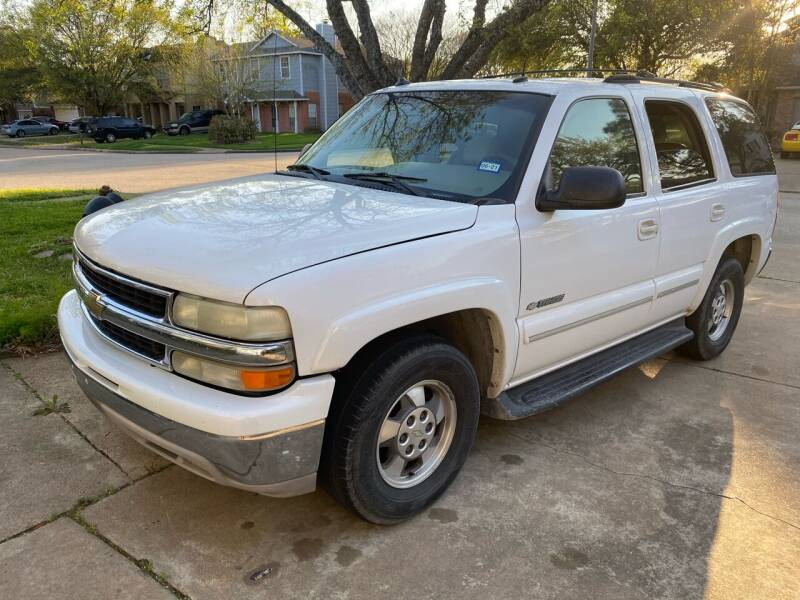 2003 Chevrolet Tahoe for sale at Lion Auto Finance in Houston TX