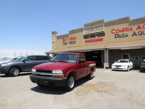 2003 Chevrolet S-10 for sale at Import Motors in Bethany OK
