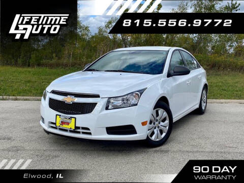 2014 Chevrolet Cruze for sale at Lifetime Auto in Elwood IL