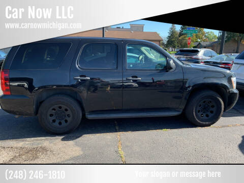 2012 Chevrolet Tahoe for sale at Car Now LLC in Madison Heights MI
