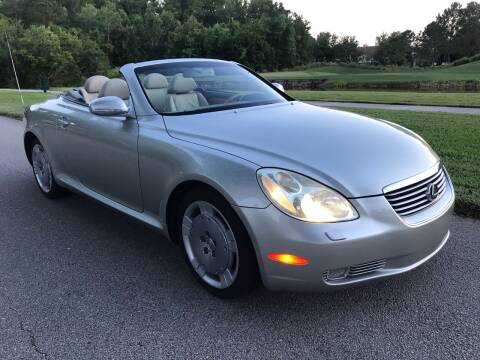 2003 Lexus SC 430 for sale at Florida Coach Trader Inc in Tampa FL