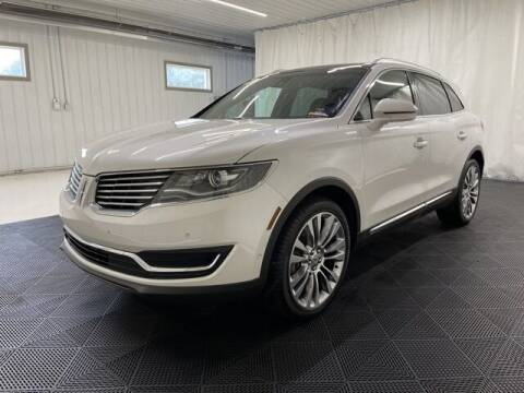 2016 Lincoln MKX for sale at Monster Motors in Michigan Center MI