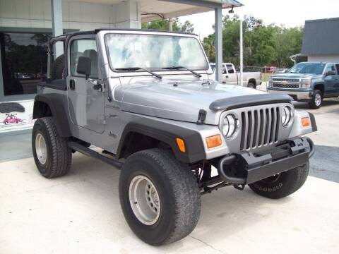 2002 Jeep Wrangler for sale at LONGSTREET AUTO in St Augustine FL