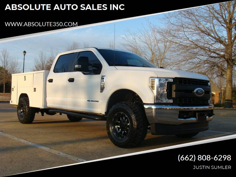 2019 Ford F-250 Super Duty for sale at ABSOLUTE AUTO SALES INC in Corinth MS