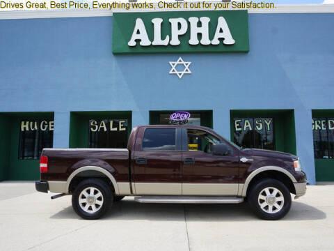 2005 Ford F-150 for sale at ALPHA AUTOMOBILE SALES, LLC in Lafayette LA