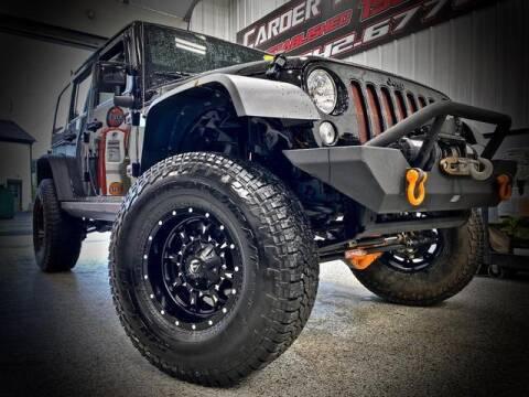 2015 Jeep Wrangler Unlimited for sale at Carder Motors Inc in Bridgeport WV