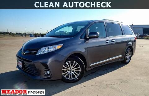 2019 Toyota Sienna for sale at Meador Dodge Chrysler Jeep RAM in Fort Worth TX