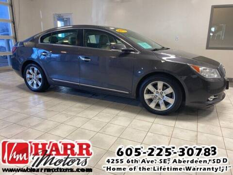 2013 Buick LaCrosse for sale at Harr's Redfield Ford in Redfield SD