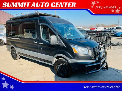 2015 Ford Transit Cargo for sale at SUMMIT AUTO CENTER in Summit IL