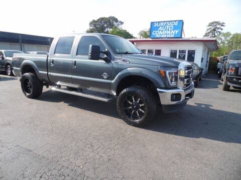 2015 Ford F-250 Super Duty for sale at Surfside Auto Company in Norfolk VA