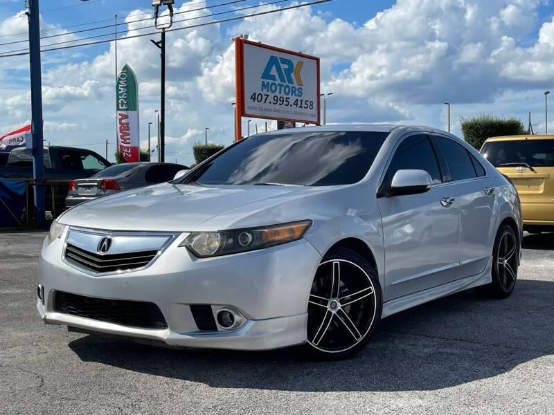 2012 Acura TSX for sale at Ark Motors LLC in Orlando FL