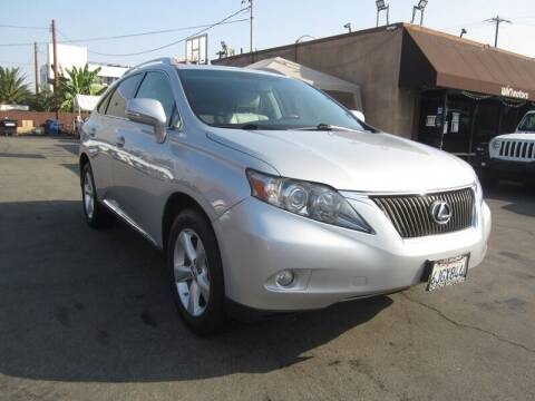 2010 Lexus RX 350 for sale at Win Motors Inc. in Los Angeles CA