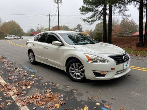 2015 Nissan Altima for sale at THE AUTO FINDERS in Durham NC