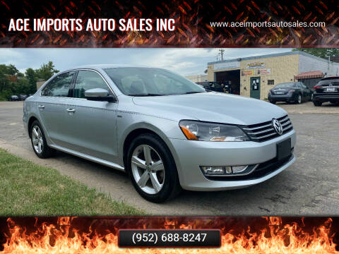 2015 Volkswagen Passat for sale at ACE IMPORTS AUTO SALES INC in Hopkins MN