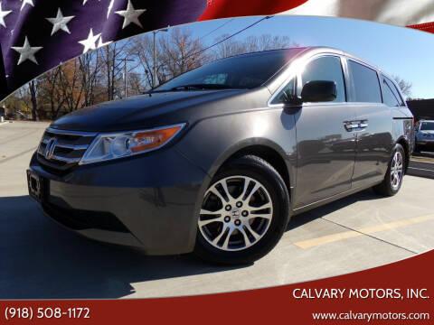 2013 Honda Odyssey for sale at Calvary Motors, Inc. in Bixby OK