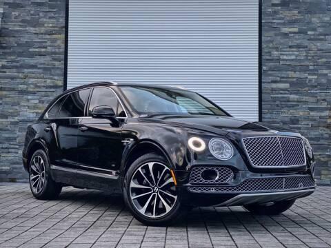 2017 Bentley Bentayga for sale at FALCON AUTO BROKERS LLC in Orlando FL