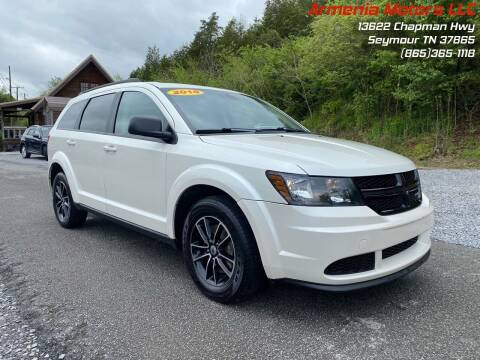 2018 Dodge Journey for sale at Armenia Motors in Seymour TN