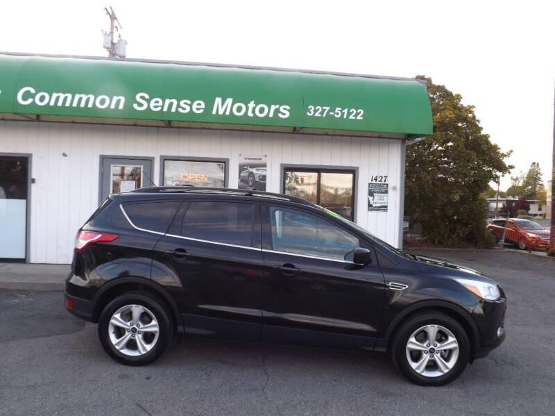 2014 Ford Escape for sale at Common Sense Motors in Spokane WA