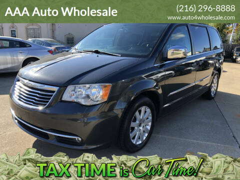 2011 Chrysler Town and Country for sale at AAA Auto Wholesale in Parma OH