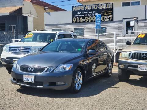 2006 Lexus GS 300 for sale at AMW Auto Sales in Sacramento CA