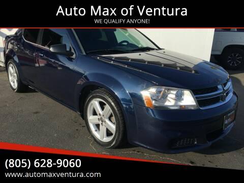2013 Dodge Avenger for sale at Auto Max of Ventura in Ventura CA