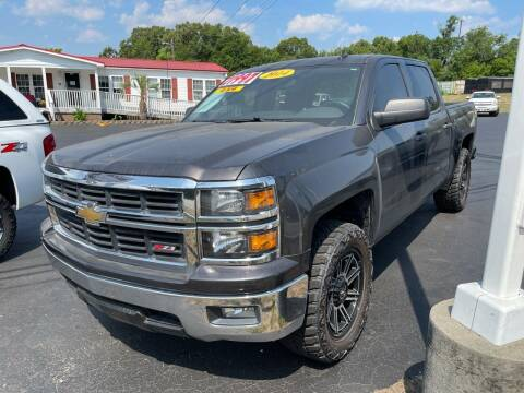 2014 Chevrolet Silverado 1500 for sale at Rock 'n Roll Auto Sales in West Columbia SC
