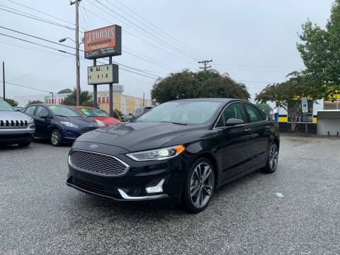 2019 Ford Fusion for sale at Autohaus of Greensboro in Greensboro NC