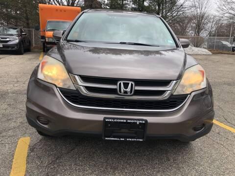2010 Honda CR-V for sale at Welcome Motors LLC in Haverhill MA
