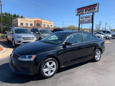 2016 Volkswagen Jetta for sale at Auto Sports in Hickory NC
