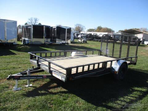 2021 PJ Trailer U8 Single Axle Utility U821431 for sale at Rondo Truck & Trailer in Sycamore IL