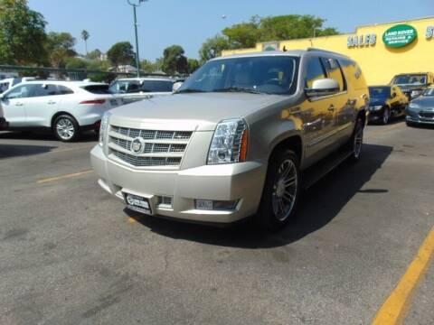 2013 Cadillac Escalade ESV for sale at Santa Monica Suvs in Santa Monica CA