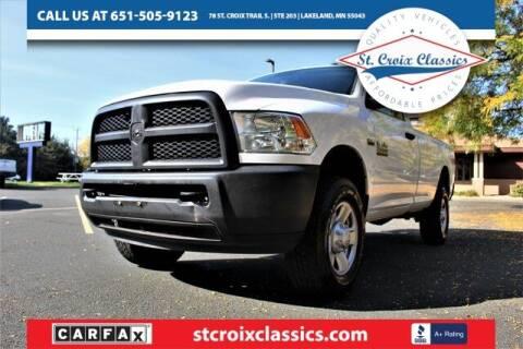 2016 RAM Ram Pickup 2500 for sale at St. Croix Classics in Lakeland MN