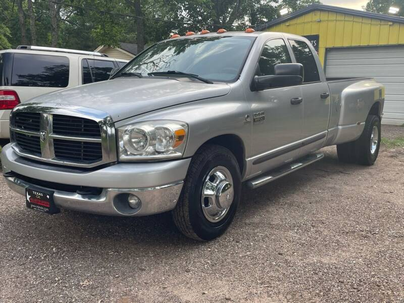2007 Dodge Ram Pickup 3500 for sale at M & J Motor Sports in New Caney TX
