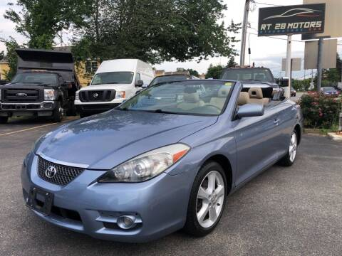2008 Toyota Camry Solara for sale at RT28 Motors in North Reading MA
