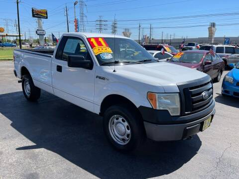 2011 Ford F-150 for sale at Texas 1 Auto Finance in Kemah TX
