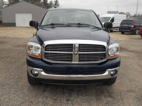 2006 Dodge Ram Pickup 1500 for sale at Shaw Motor Sales in Kalkaska MI