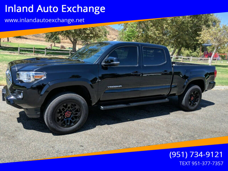 2017 Toyota Tacoma for sale at Inland Auto Exchange in Norco CA