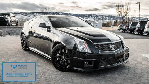 2014 Cadillac CTS-V for sale at MUSCLE MOTORS AUTO SALES INC in Reno NV