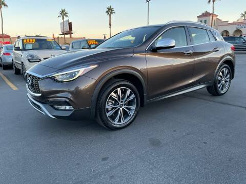 2017 Infiniti QX30 for sale at Charlie Cheap Car in Las Vegas NV