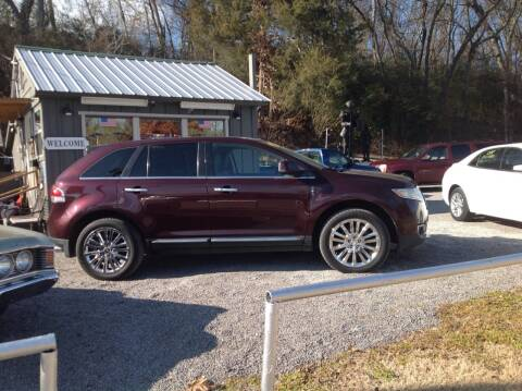 2011 Lincoln MKX for sale at GIB'S AUTO SALES in Tahlequah OK