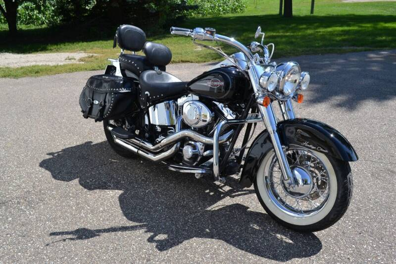 2005 Harley-Davidson Heritage Softail  for sale at Dave's Auto Sales in Winthrop MN