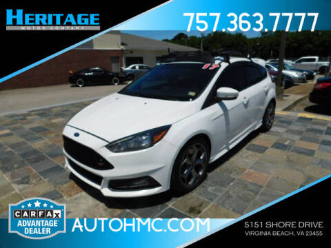 2017 Ford Focus for sale at Heritage Motor Company in Virginia Beach VA