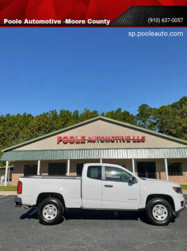 2015 Chevrolet Colorado for sale at Poole Automotive in Laurinburg NC