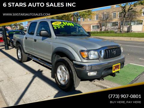 2001 Toyota Tacoma for sale at 6 STARS AUTO SALES INC in Chicago IL