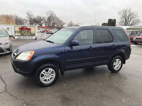 2003 Honda CR-V for sale at Cordova Motors in Lawrence KS