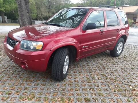 2007 Ford Escape Hybrid for sale at Royal Auto Mart in Tampa FL