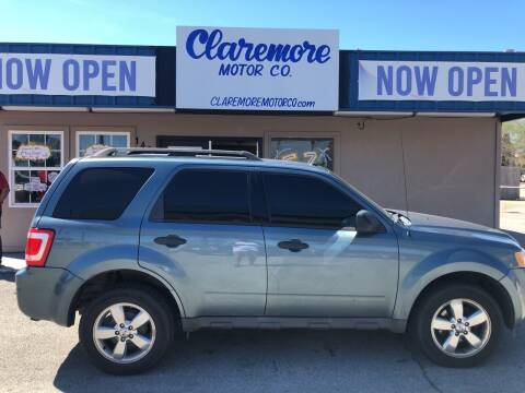 2011 Ford Escape for sale at Claremore Motor Company in Claremore OK